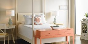 Gat Creek Garrett Bed and Talmadge Console