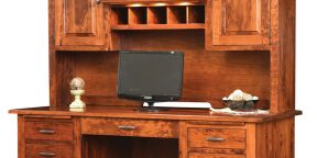 Maple Hill Desk_Hutch1
